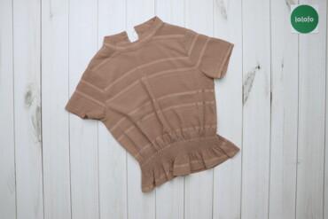 Жіноча футболка у смужку, p. S    Довжина: 54 см Ширина плечей: 37 см