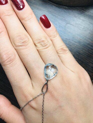 brillianty s golubym в Кыргызстан: Продаю оригинальную цепочку от SWAROVSKI 🦢 с настоящим кристаллом