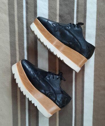Platforma cipele broj - Srbija: Cipele platforma crne. Broj 38 Kao nove
