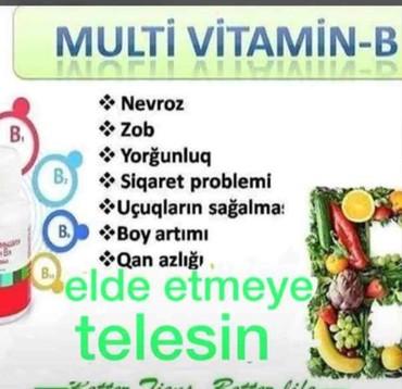 Vitaminlər və BAƏ Sumqayıtda: Vitaminlər və BAƏ