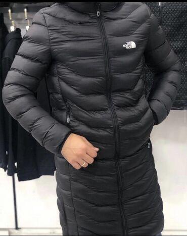 1683 elan | ŞƏXSI ƏŞYALAR: Yeni qış sezon modeli North Face uzun kurtka, qara rənglidir yenidir