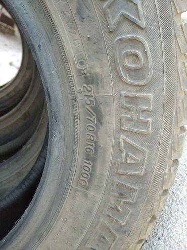 Автозапчасти и аксессуары - Токмок: Продаю шины 16 Размера использовались одну зиму