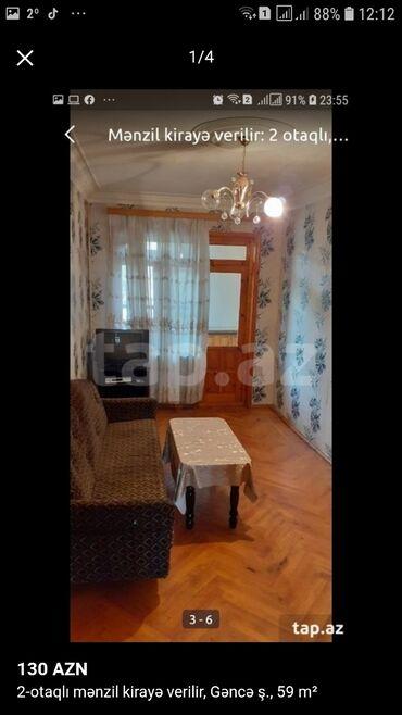 Sumqayitda kredit evler - Azərbaycan: Mənzil kirayə verilir: 2 otaqlı, 49 kv. m, Gəncə