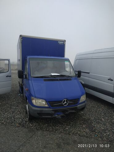 Mercedes-Benz - Цвет: Синий - Сокулук: Mercedes-Benz Sprinter 2.2 л. 2005 | 200000 км