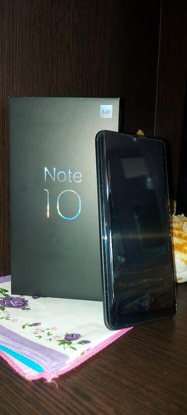 Купить бэушный телефон недорого - Кыргызстан: Новый Xiaomi Mi Note 10 128 ГБ Черный