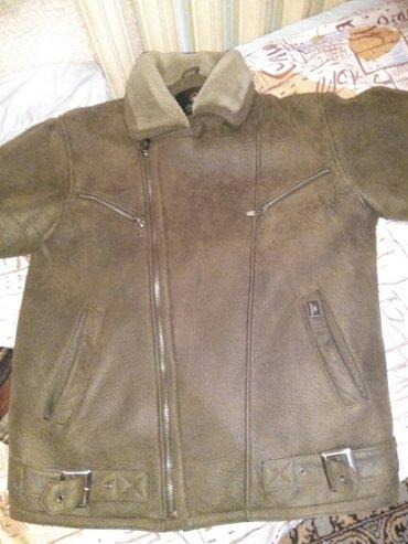 продается мужская куртка зимняя. размер xl.материал дубленка в Бишкек