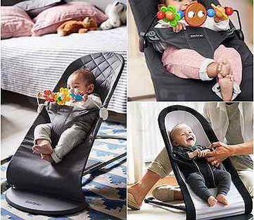 шезлонг для новорожденных в Кыргызстан: Шезлонг качалка