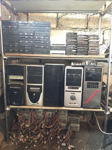 Kompüter ehtiyyat hissələri - Azərbaycan: Köhnə HDD, DVD -R, RW, CD -R, RAM, Power Blok, Case 5 eded. İçərisind