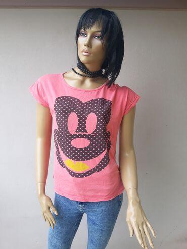 Ženska odeća | Prokuplje: Pamučna majica sa elastinom bez ostecenja Velicina M/LPogledajte i