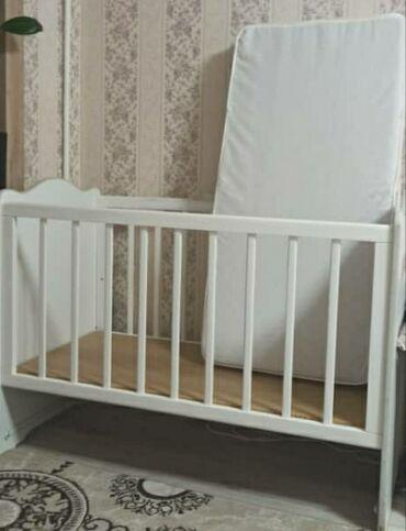 Продается детская кроватка с матрасом. Состояние отличное