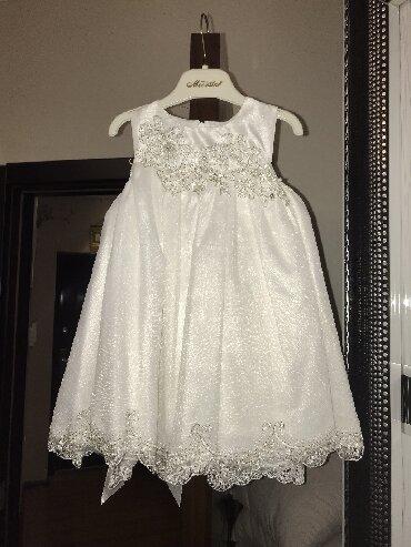 белье для девочек в Азербайджан: Платье для девочки 92 см. 24 месяц и годик подходит. Новая. Очень крас