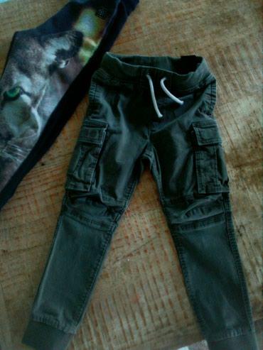 H&m παντελονι ελαστικο χακι για παιδακι 5-6 ετων αριστη κατασταση