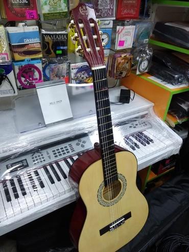 gitara i saksofon в Азербайджан: Gitara klassik 4de 3 - 2ci əl gitara