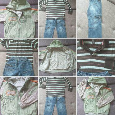 Vel.5-6godOdlicna jaknica, divan, nezan materijal, kao i boje(za