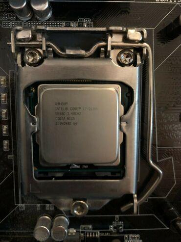Процессор i7 2600k 3,4 ghz. Только камень. На хорошей матери хорошо