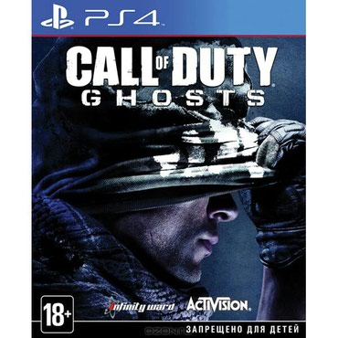 Продаю диск Call of Duty Ghosts на ps4,  в Бишкек