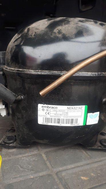 компрессор б/У мотор сняли из рабочего холодильника в Бишкек