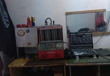 Инжектор. чистка форсунок на стенде, в Бишкек