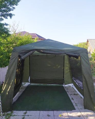 Шатёр-палатка (сборный), идеально подойдёт, чтобы спрятаться от не