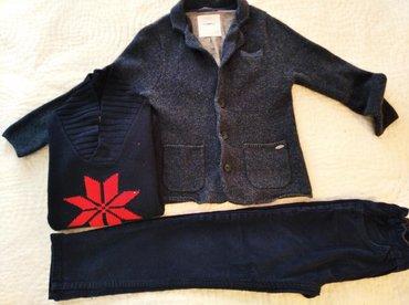 Πλεκτό σακάκι zara αφορετο για 6-7 ετων.Κοτλε παντελόνι zara άριστη