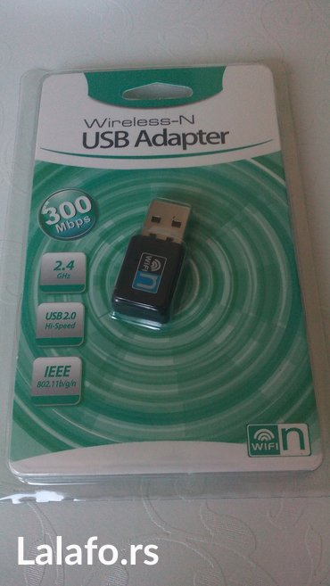 300Mbps Mini USB Wi-fi Wlan Adapter-Kartica 802.11 b/g/n+CD - Uzice