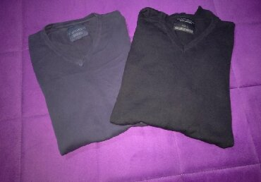 Muška odeća | Cuprija: Muski dzemperi, velicina L Oba za 500 din. Jedan je crn, drugi teget