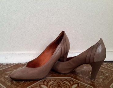 Туфли женские, кожаные. Производство в Бишкек