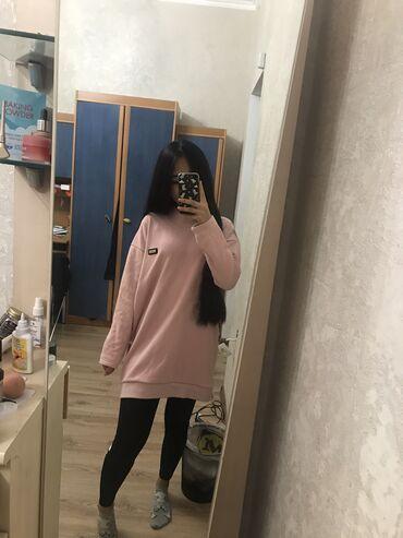 iphone xs naushniki в Кыргызстан: Нежно розовая кофта,туника,платье,свитер(утепленная с начесом)очень