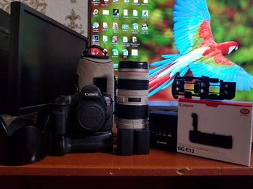 Canon 6d 70.200 2.8 обектив батарейный блок в Джалал-Абад