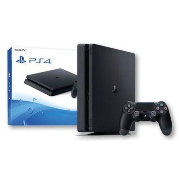 Продаем Sony Playstation 4 slim 500gb. новая в Бишкек