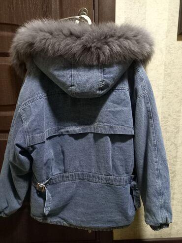 brand in trend в Кыргызстан: Парка натуральный мех размер стандарт