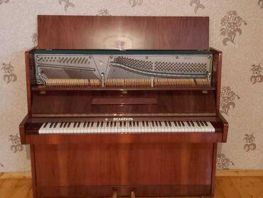 İdman və hobbi - Şirvan: Şirvan şəhəri.1960 ci ilin pianosudur. Çürüyü sınıqı yoxdur. Sadəcə