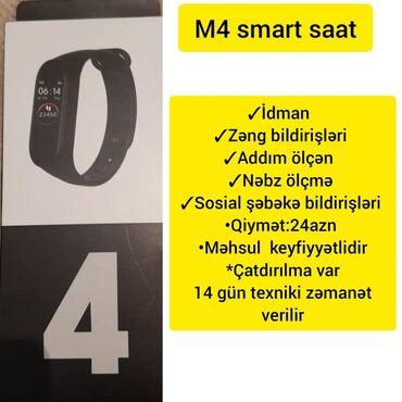 chopard saat - Azərbaycan: M4 Smart Saat✓Idman✓Zeng bildirişləri✓Addım ölçən✓Nəbz Ölçmə✓Sosial