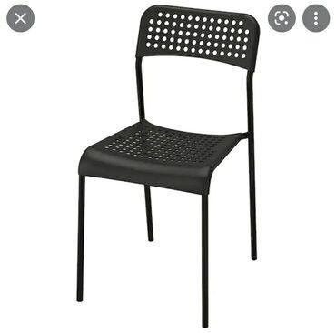 Икея стул черныйбелый . 7 микрорайон