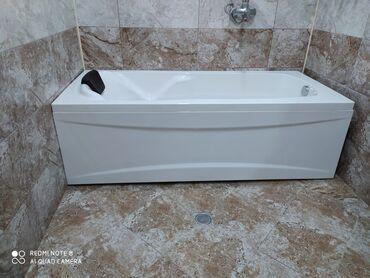 ванна из стекловолокна в Азербайджан: Akrilik vannalarin topdan ve perakende satisi Zemanetli 🛁