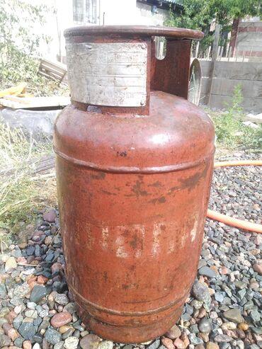 Газ баллон цена - Кыргызстан: Продаю газовый баллон в хорошем состоянии Вместе с полным газом Без