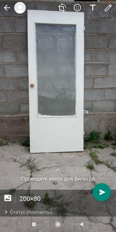 Межкомнатная дверь, очень качественная дерево.Размеры