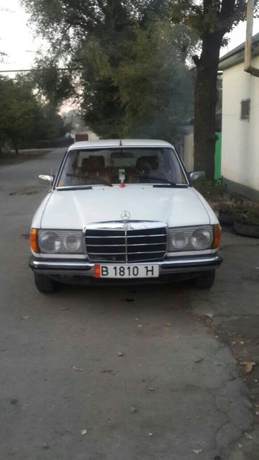 срочно продаю  w123 состояние хороший в Бишкек