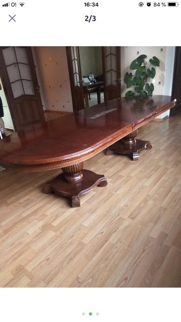 стол для гостиной в Кыргызстан: Стол обеденный со стульями