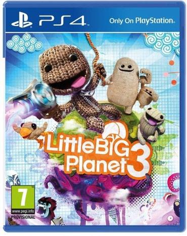 Bakı şəhərində Ps4 ucun little big planet 3 oyunu teze upokovkada orginal catdirilma