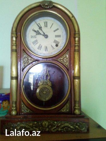 stolustu saatlar - Azərbaycan: Mexaniki saat yaponiya istehsali, hem divar, hem stolustu, xvii-xviii