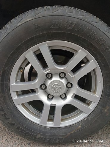 Диски колеса на джип Прадо 150 Форанер Паджеро Патруль Лексус GX С