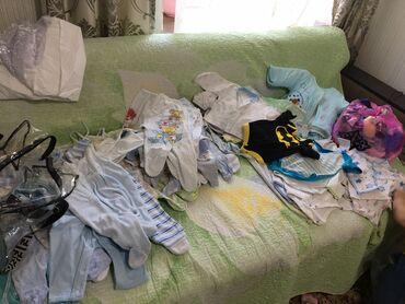 Продаётся детский гардероб  На мальчика от 0 до 7 месяцев  Ползунки 18