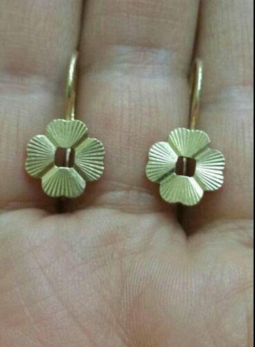Серьги СССР редкие золотые. Срочно, в центре города Бишкек