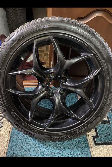 диски на авто bbs в Кыргызстан: Продаю !!колеса зимние шипованные Hakkapeliitta 8suv очень хорошо дер
