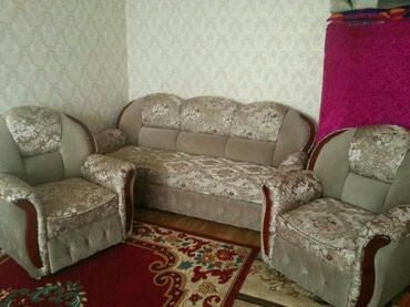 Продаю диван два кресло новый 7мес в Токмак