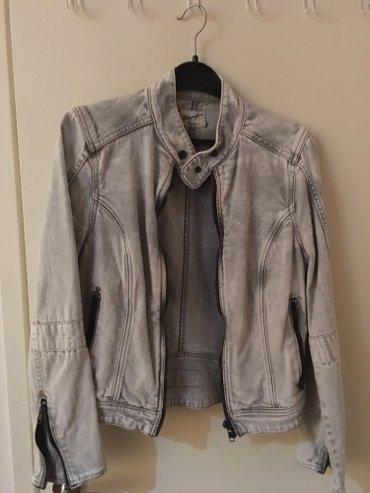 Teksas jakna svetlo sive boje, wrangler, vel m - Kikinda