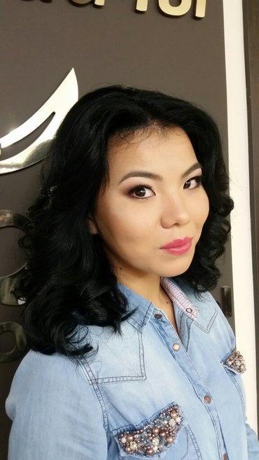 макияж любой сложности, работаю на проф. косметике Франция atelier-par в Бишкек - фото 2