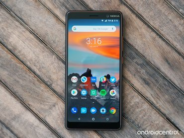 nokia 6 в Азербайджан: Nokia 7 plus Google Android One,Android 10,CPU Qualcom Snapdragon