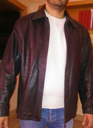 Muška odeća | Novi Banovci: Kozna jakna dobro ocuvana xl velicina. Kvalitetna box koza